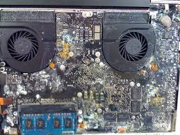 water damaged macbook pro logic board repair mississauga